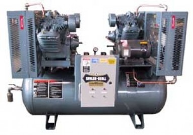 93024 Tank Mounted Horizontal Air Compressor