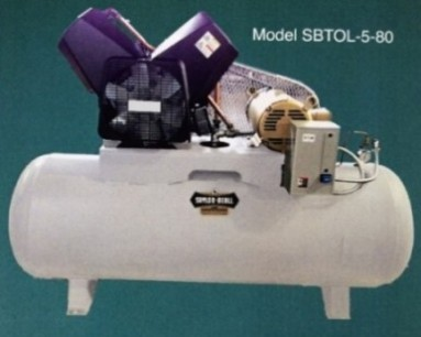New Saylor-Beall Oil-Less Air Compressor